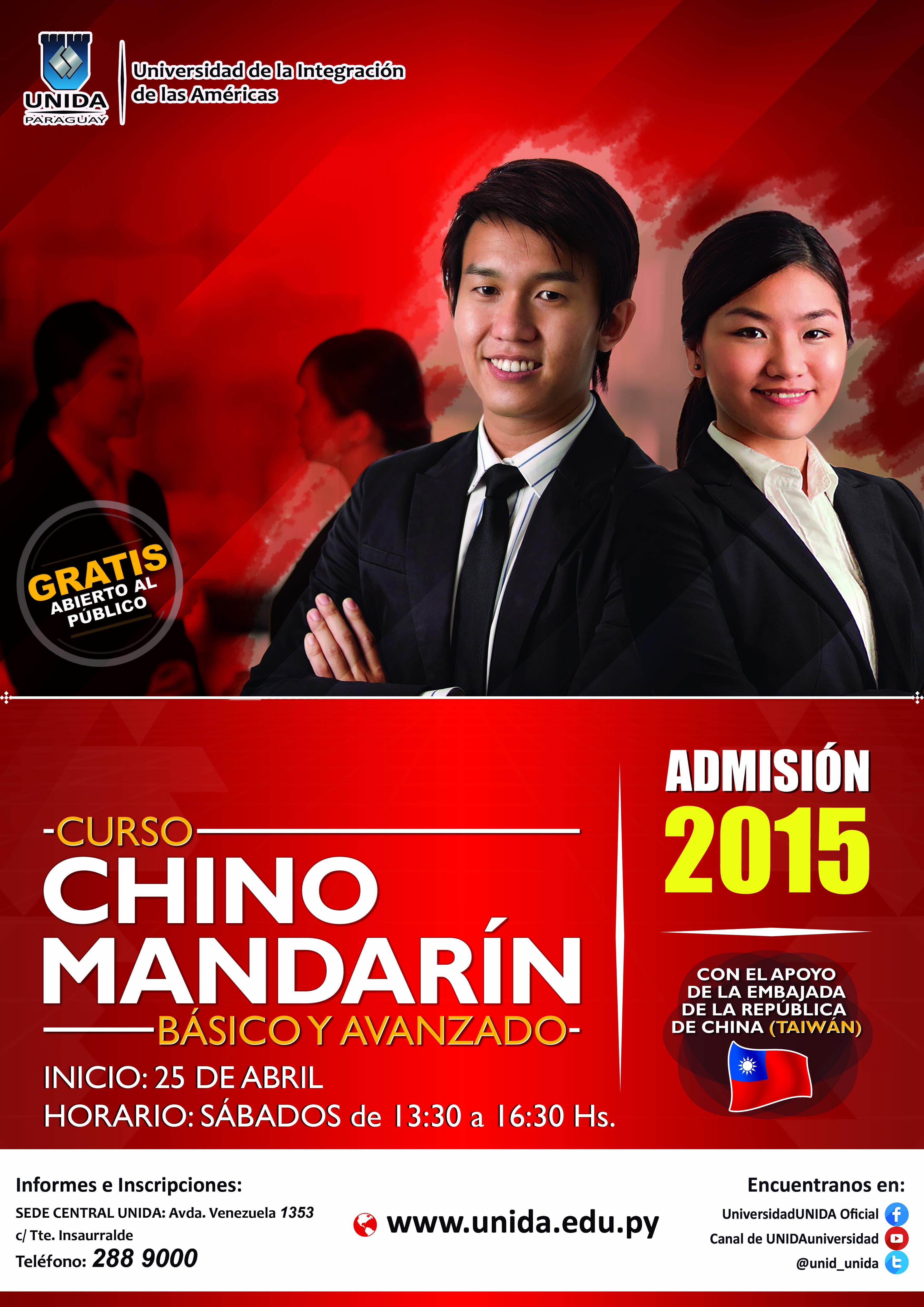 Afiche - Chino Mandarin copia