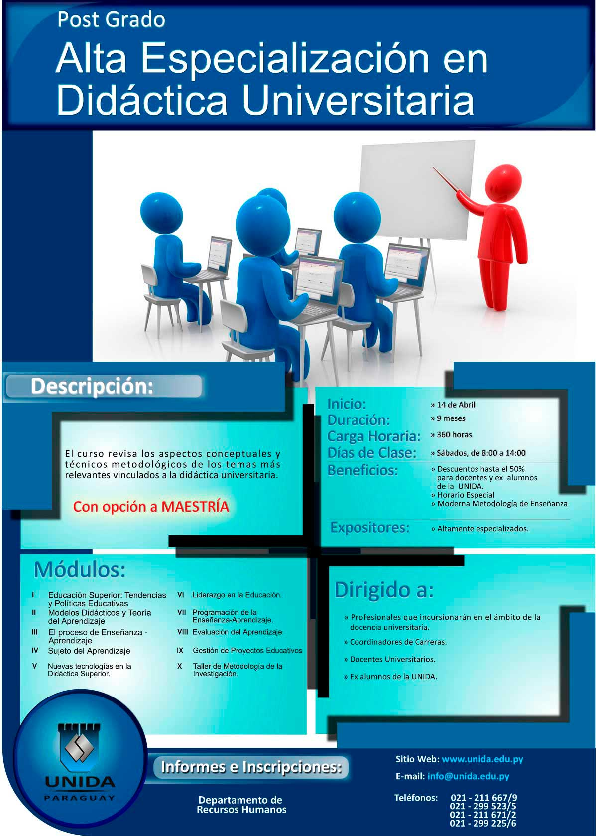 Didáctica Universitaria   UNIDA