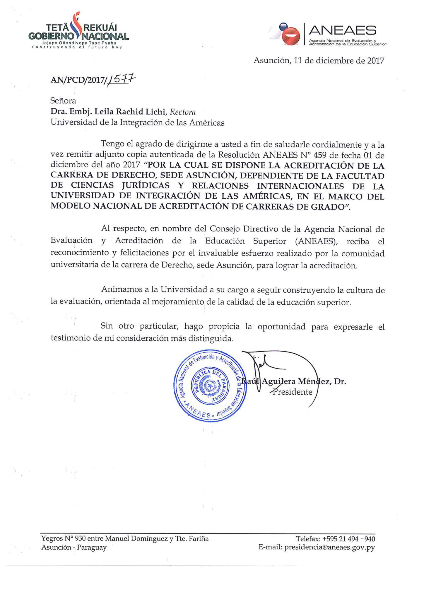 Derecho | UNIDA